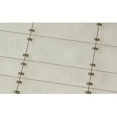 Betonové panely 300x150 300x100 typ A H0 1:87