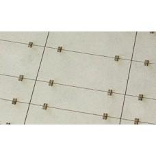 Betonové panely 300x150 300x100 typ B H0 1:87