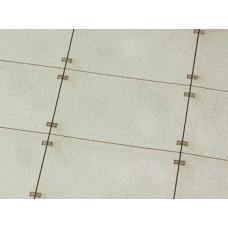 Betonové panely 300x200 typ A H0 1:87